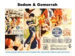 sodom gomorrah