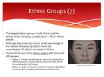 ethnic groups 7