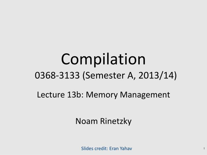 compilation 0368 3133 semester a 2013 14 n.