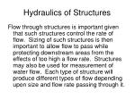 hydraulics of structures1