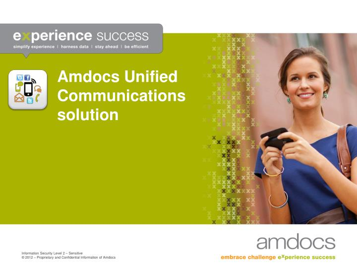 amdocs unified communications solution n.
