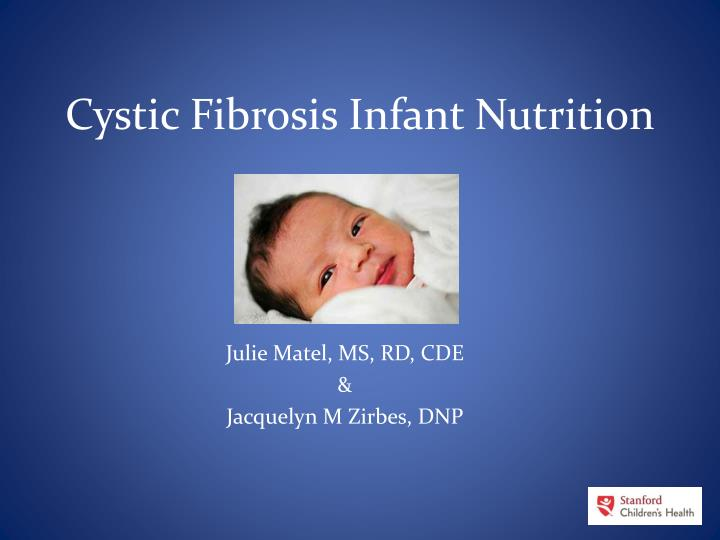 cystic fibrosis infant nutrition n.