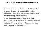 what is rheumatic heart disease