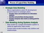 process of logical data modeling