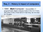 req 2 history impact of computers4
