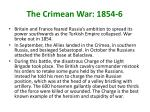 the crimean war 1854 6