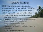 egids positives