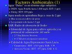 factores ambientales 1
