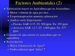 factores ambientales 2