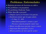 problemas enfermedades