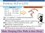 problem slp to lz78