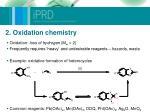 2 oxidation chemistry