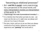 becoming as relational processes2