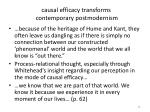 causal efficacy transforms contemporary postmodernism