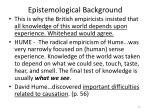 epistemological background2