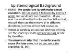 epistemological background3