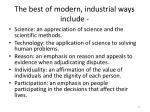 the best of modern industrial ways include