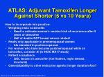 atlas adjuvant tamoxifen longer against shorter 5 vs 10 years3
