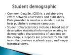 student demographic