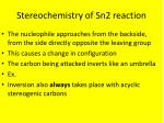 stereochemistry of sn2 reaction