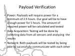 payload verification