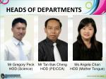heads of departments1