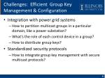 challenges efficient group key management configuration