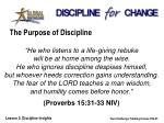the purpose of discipline5