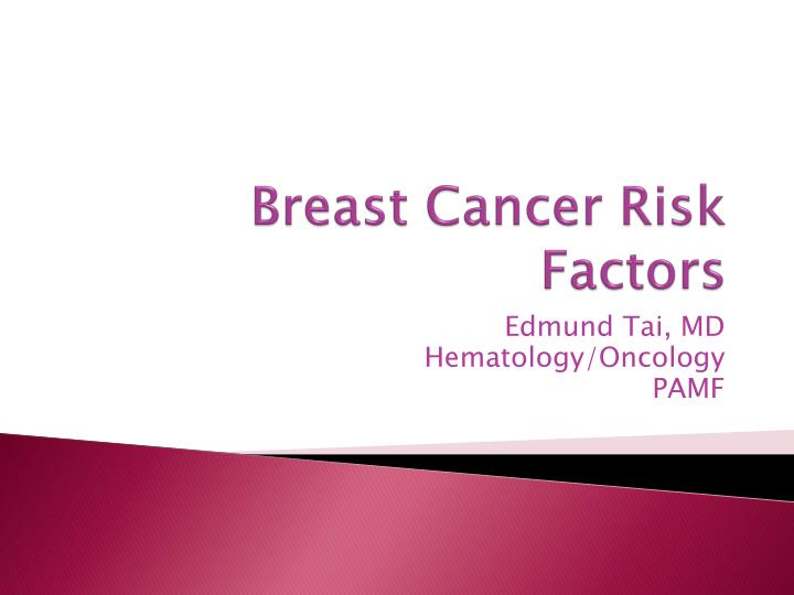 breast cancer risk factors n.