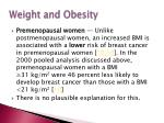 weight and obesity1