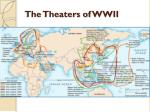 the theaters of wwii