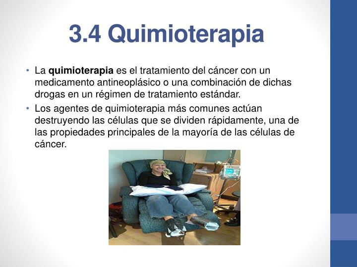 3.4 Quimioterapia