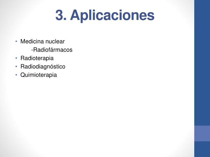 3. Aplicaciones
