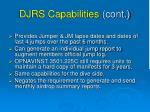 djrs capabilities cont