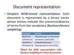 document representation3
