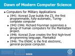 dawn of modern computer science2