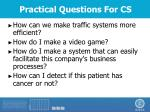 practical questions for cs