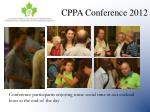 cppa conference 201224