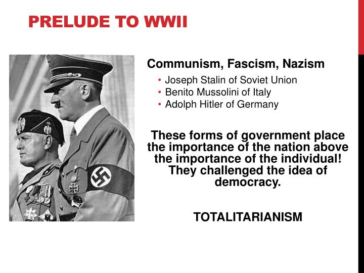 prelude to wwii n.