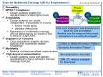 does the multimedia ontology fulfil the requirements