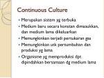 continuous culture1