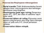 preservasi dan penyimpanan mikroorganisme