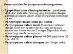 preservasi dan penyimpanan mikroorganisme1
