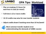 opa tips workload1
