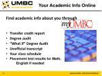 your academic info online1