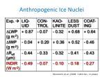 anthropogenic ice nuclei