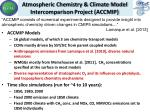 atmospheric chemistry climate model intercomparison project accmip