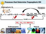 processes that determine tropospheric oh