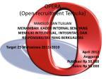 opera open recruitment terbuka