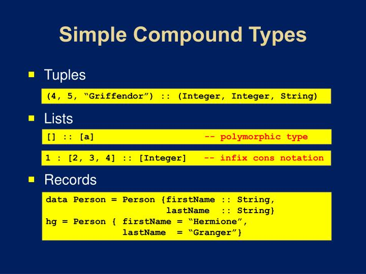 Simple Compound
